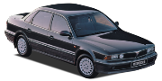 Mitsubishi Sigma 1991-1996
